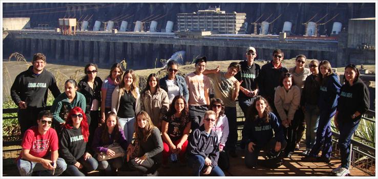 Estudantes de Ciências Biológicas visitam Itaipu