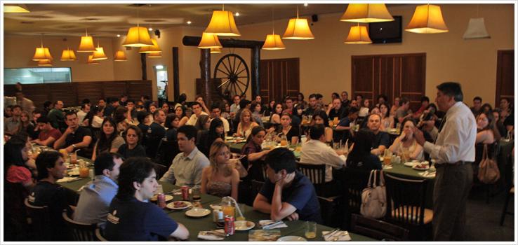 """Almoço dos """"Melhores Alunos"""" homenageia estudantes"""